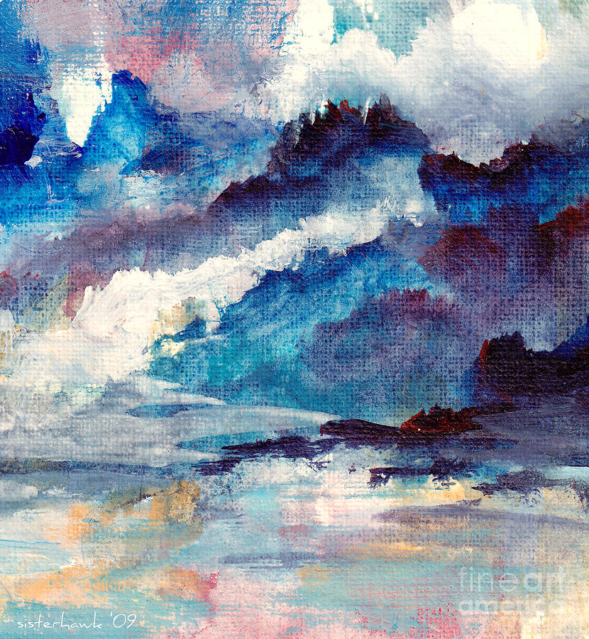 Watercolor Painting - Creation by Kathy Bassett