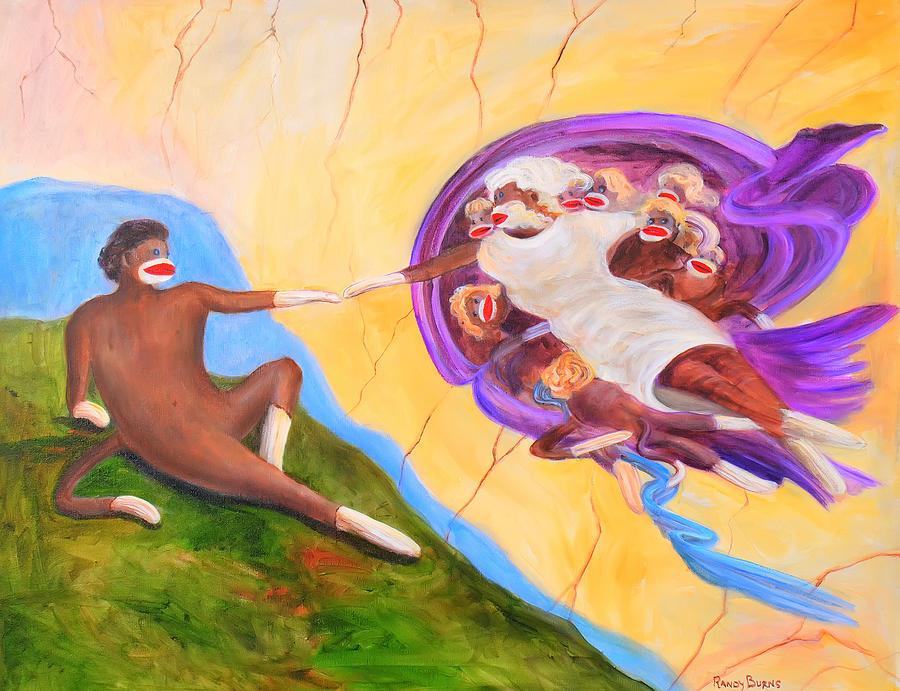 ... Monkey Drawing , Sock Monkey Canvas Painting , Sock Monkey Clip Art