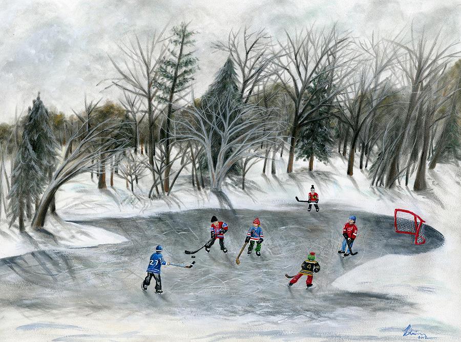 Credit River Dreams Painting
