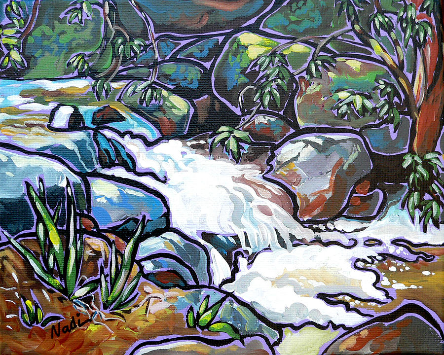 Creek Painting  - Creek Fine Art Print
