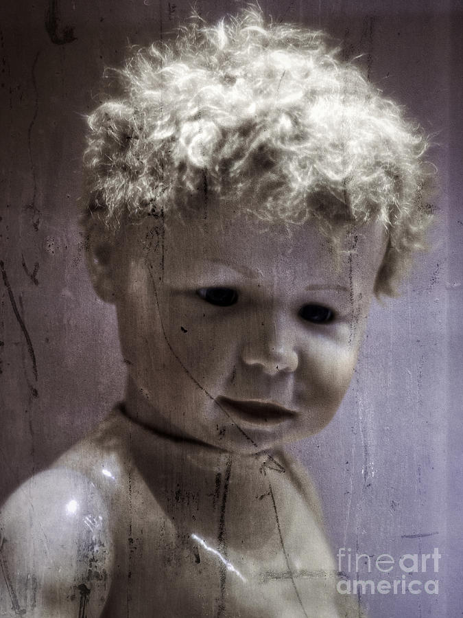 Creepy Old Doll Photograph