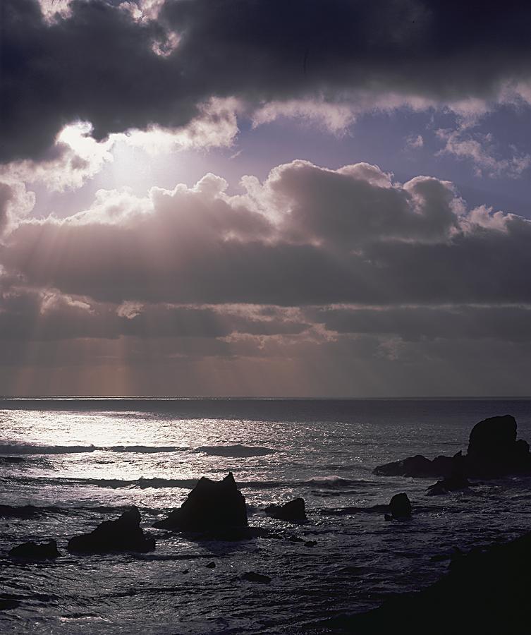 Crepuscular Rays Photograph