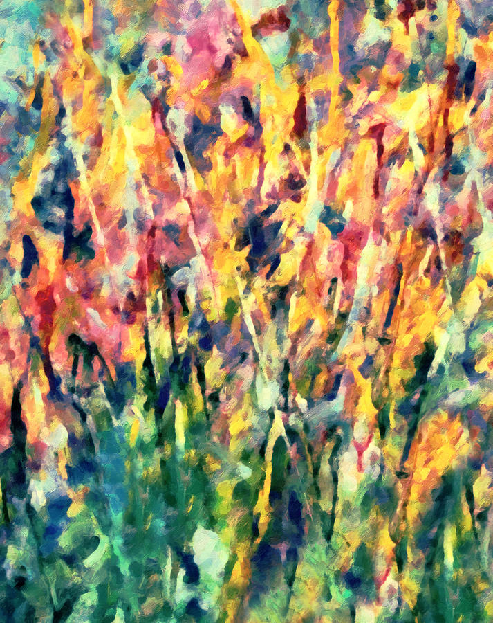 Crescendo Of Spring Abstract Painting