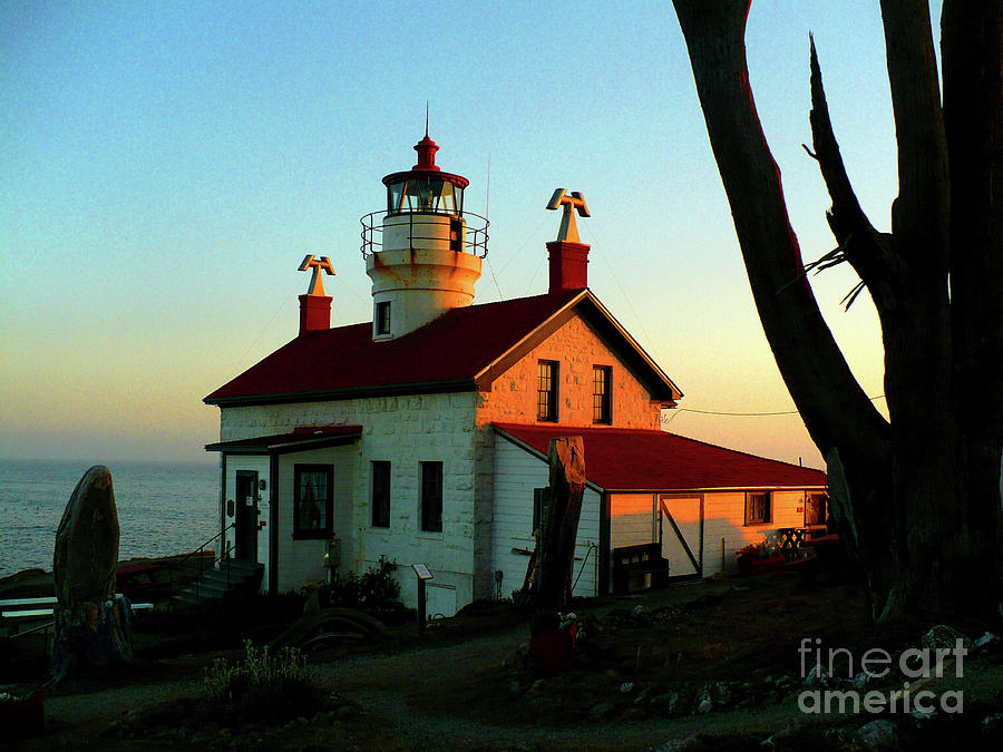 Chad Rice Photograph - Crescent City Lighthouse by Chad Rice
