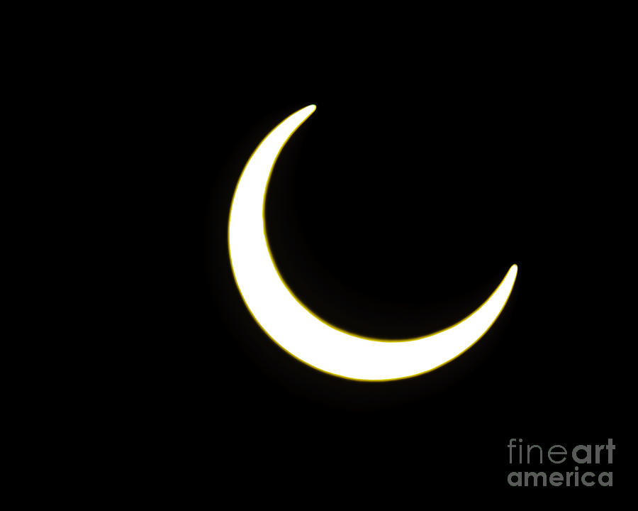 Crescent Sun Eclipse 2012 Phoenix View Photograph  - Crescent Sun Eclipse 2012 Phoenix View Fine Art Print