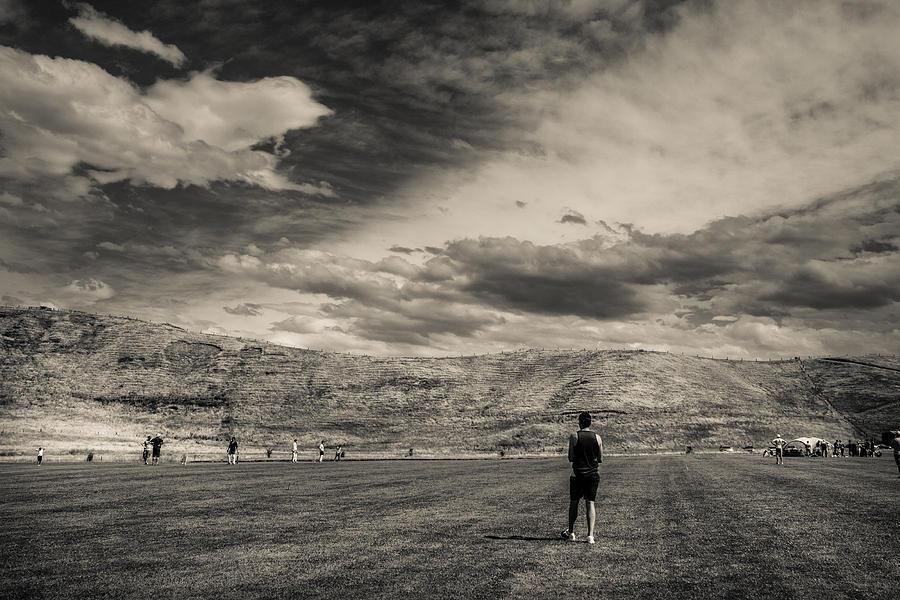 Cricket At Cape Estate 1 Photograph