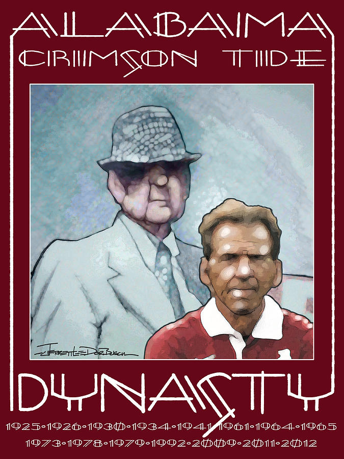 Alabama Painting - Crimson Dynasty by Jerrett Dornbusch