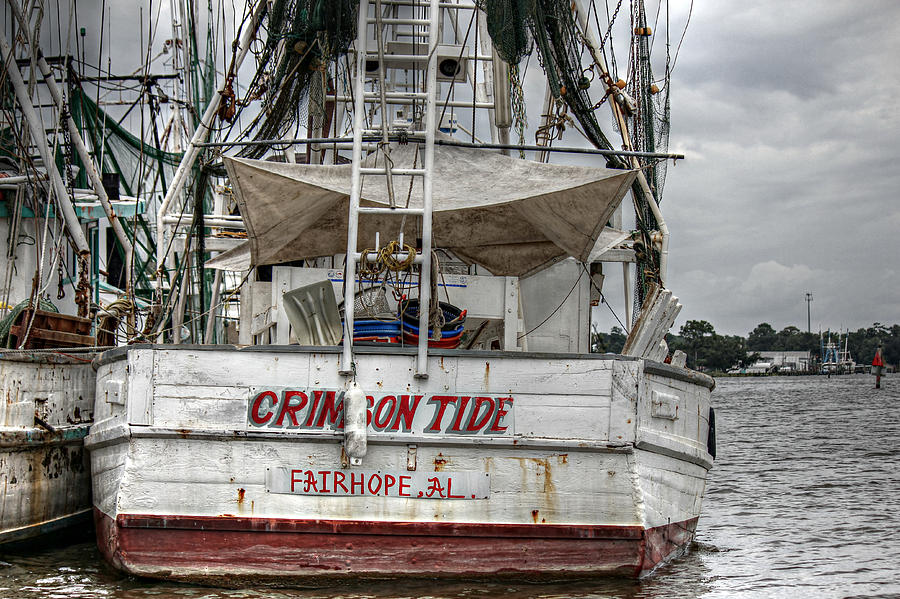 Crimson Tide On The Bon Secour Photograph