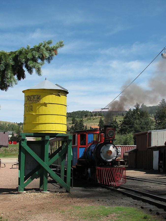 Cripple Creek Train Photograph