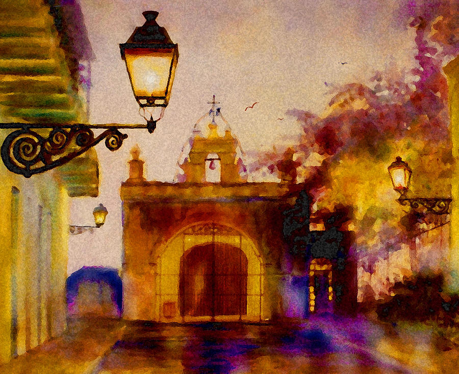 Cristo Chapel San Juan Painting