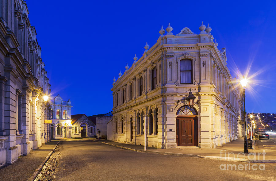 Criterion Hotel Oamaru New Zealand Photograph