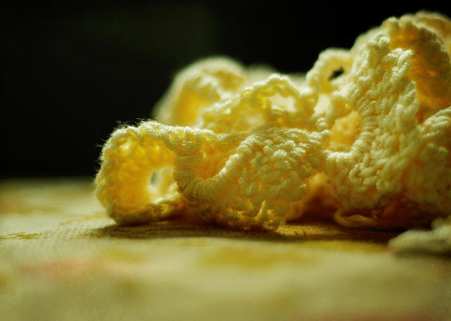 Crocheted Sunshine Photograph  - Crocheted Sunshine Fine Art Print