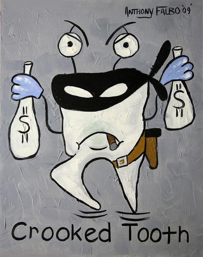 Crooked Tooth Painting