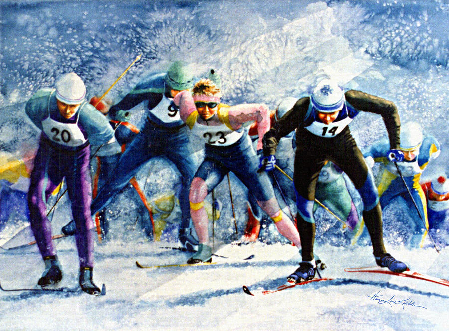 Cross-country Challenge Painting