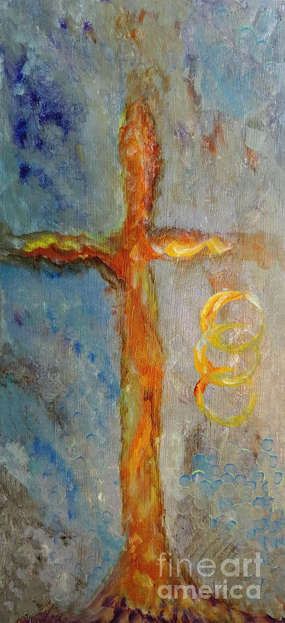 Cross Of Endless Love Painting