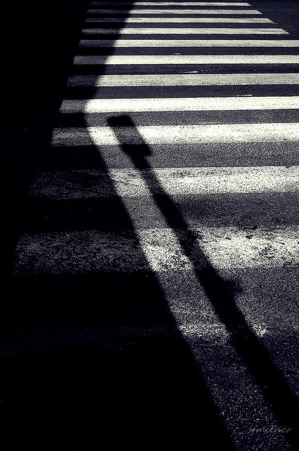 Abstracts Photograph - Crossing Guard by Steven Milner