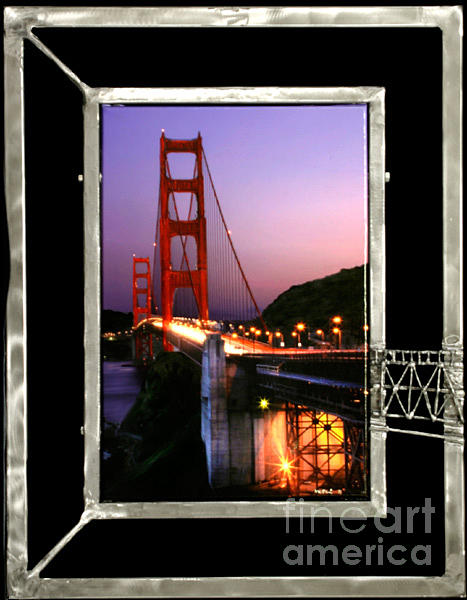 Crossing The Golden Gate Mixed Media