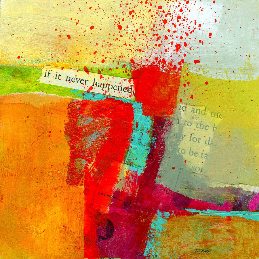 Crossroads 58 Painting  - Crossroads 58 Fine Art Print