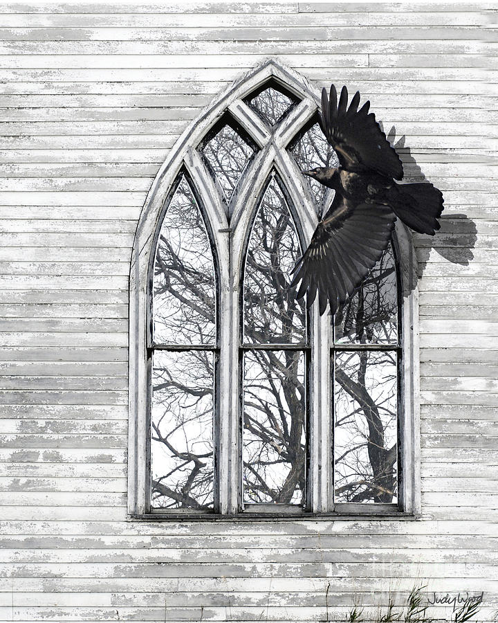 Crow Church Digital Art