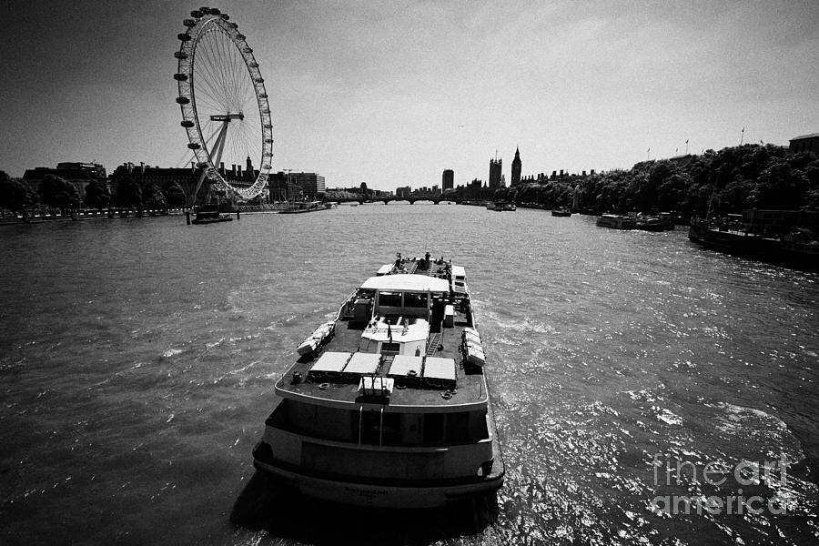 Crown river cruises sarpedon boat on the river thames london england