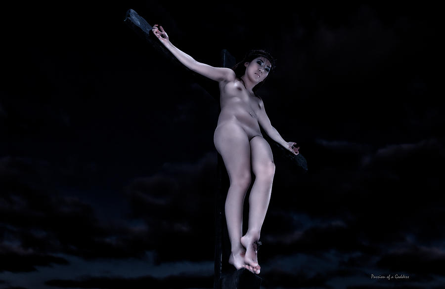 Crucified women nude