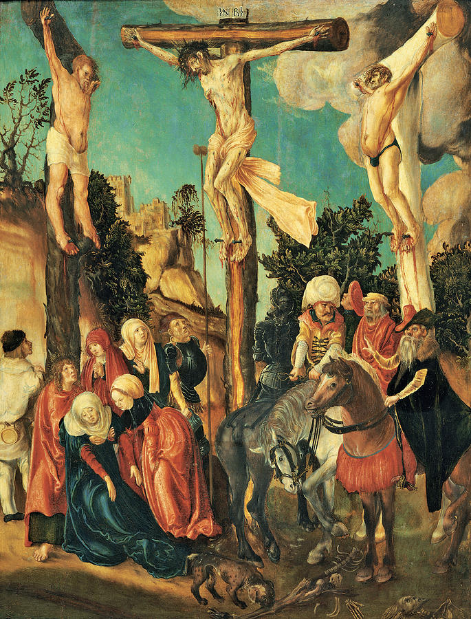 Crucifixion, 1500 - 1501 Painting