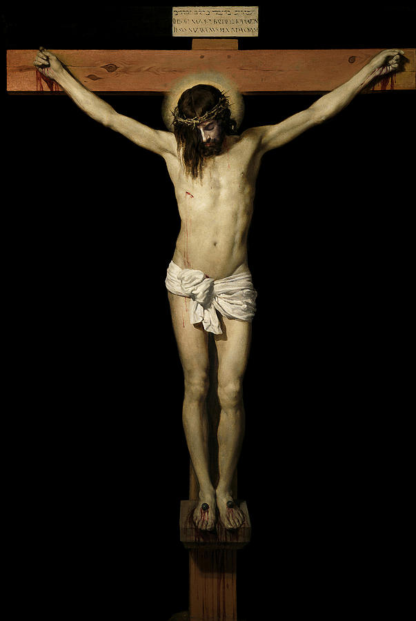 Crucifixion Digital Art  - Crucifixion Fine Art Print