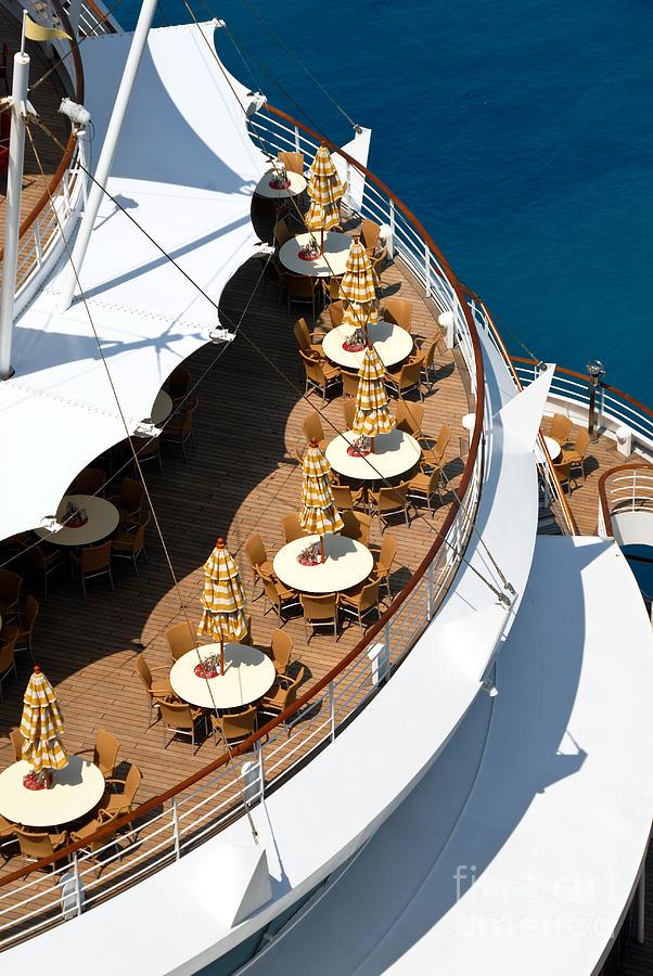 Cruise Ship Symmetry Photograph