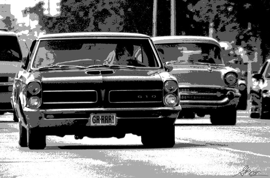 Cruisin Woodward Photograph  - Cruisin Woodward Fine Art Print