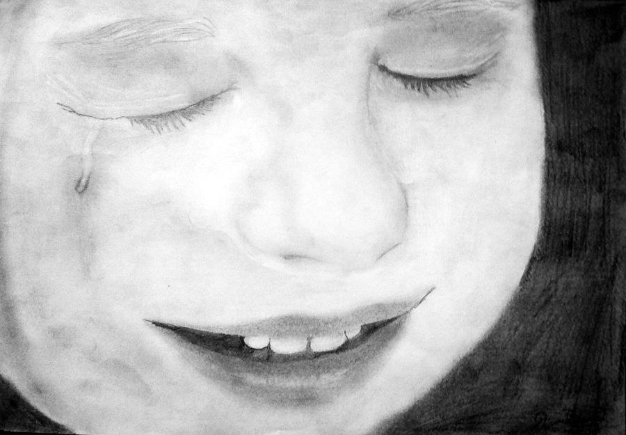 Crying Baby Drawing
