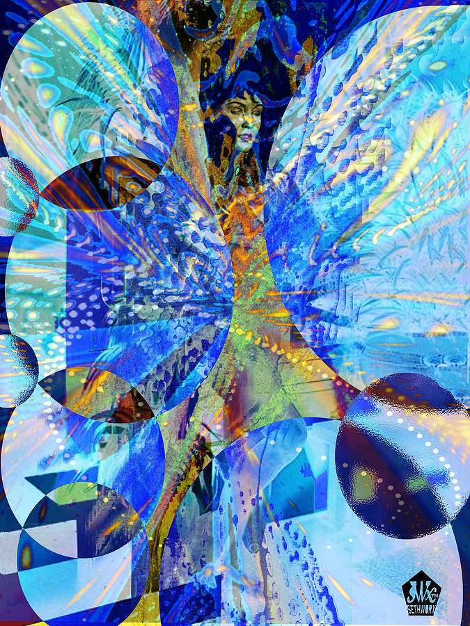 Crystal Blue Persuasion Digital Art