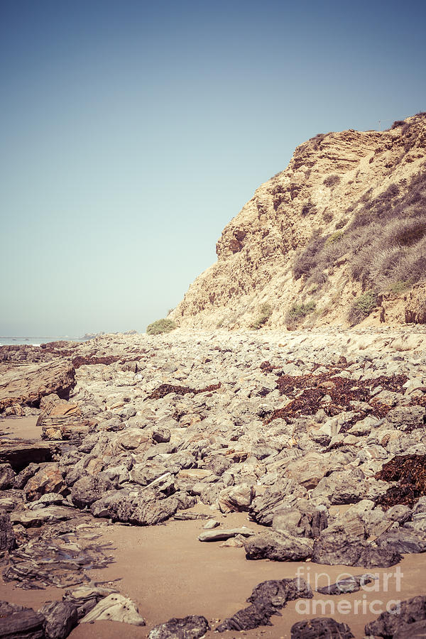 Crystal Cove State Park Cliff Picture Photograph