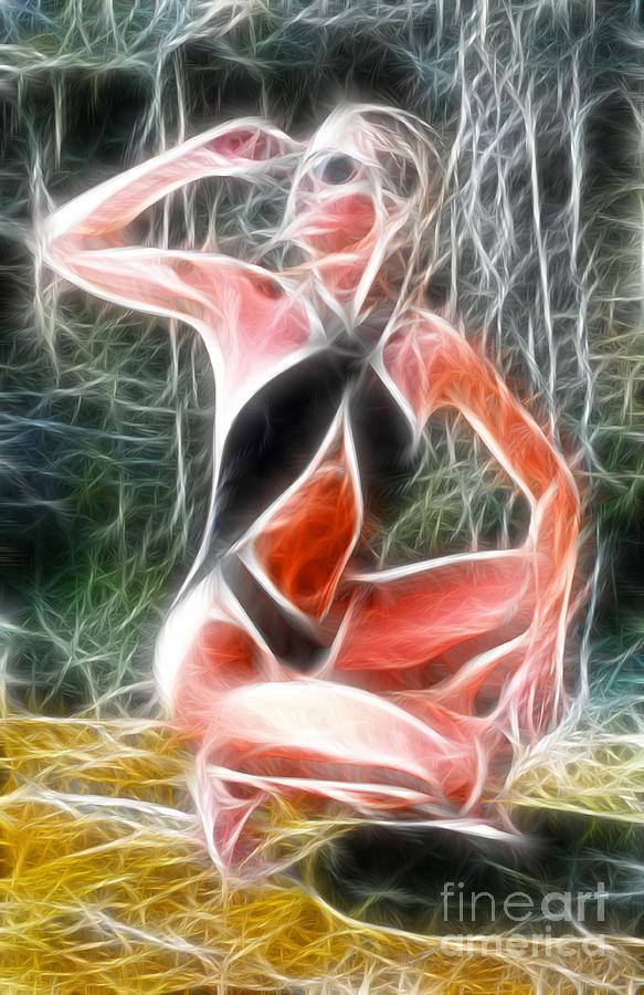 Crystal Sling Fractal Photograph