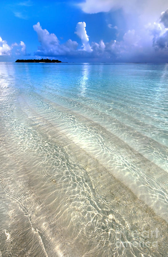 Crystal Water Of The Ocean Photograph