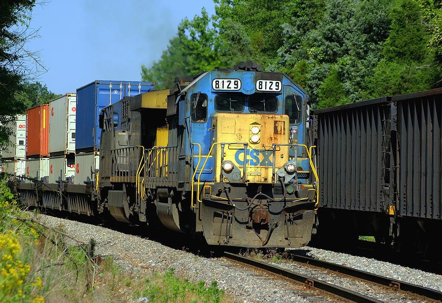 photograph csx train2650 by - photo #20
