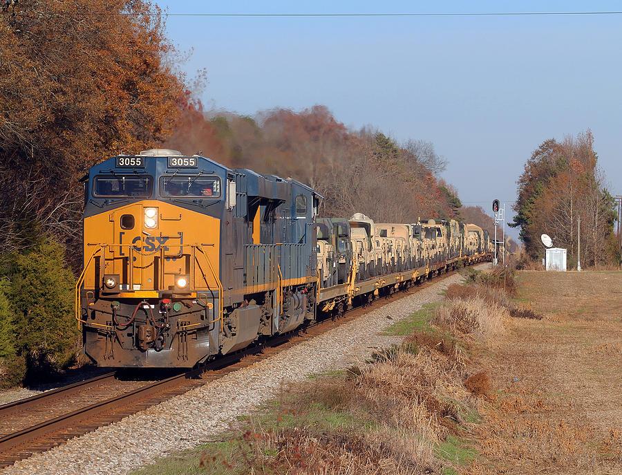 photograph csx train2650 by - photo #15