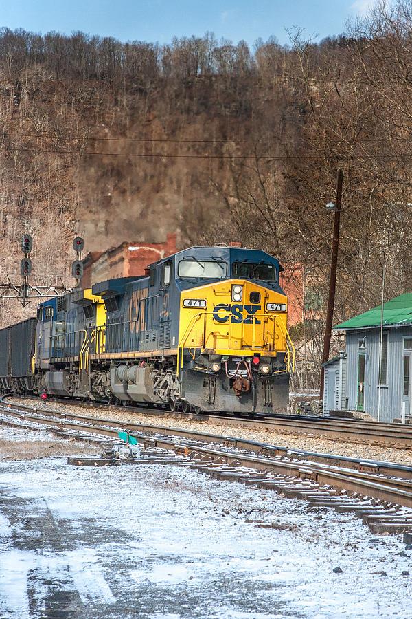 photograph csx train2650 by - photo #21