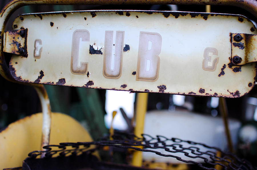 Johndeere Photograph - CUB by Off The Beaten Path Photography - Andrew Alexander