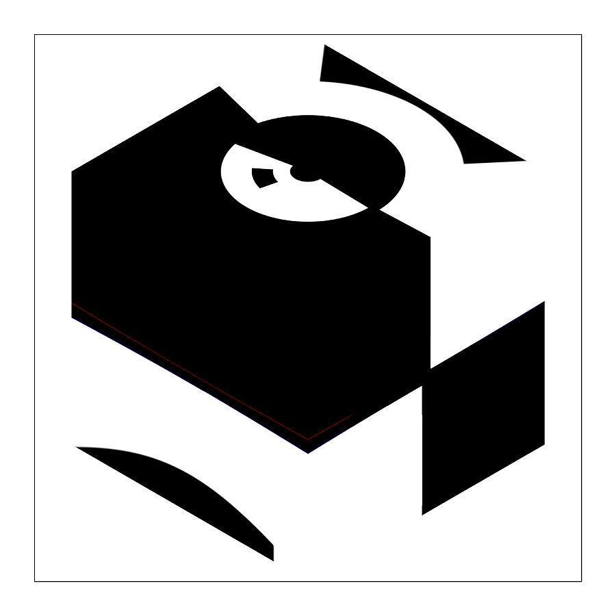 Cube Digital Art