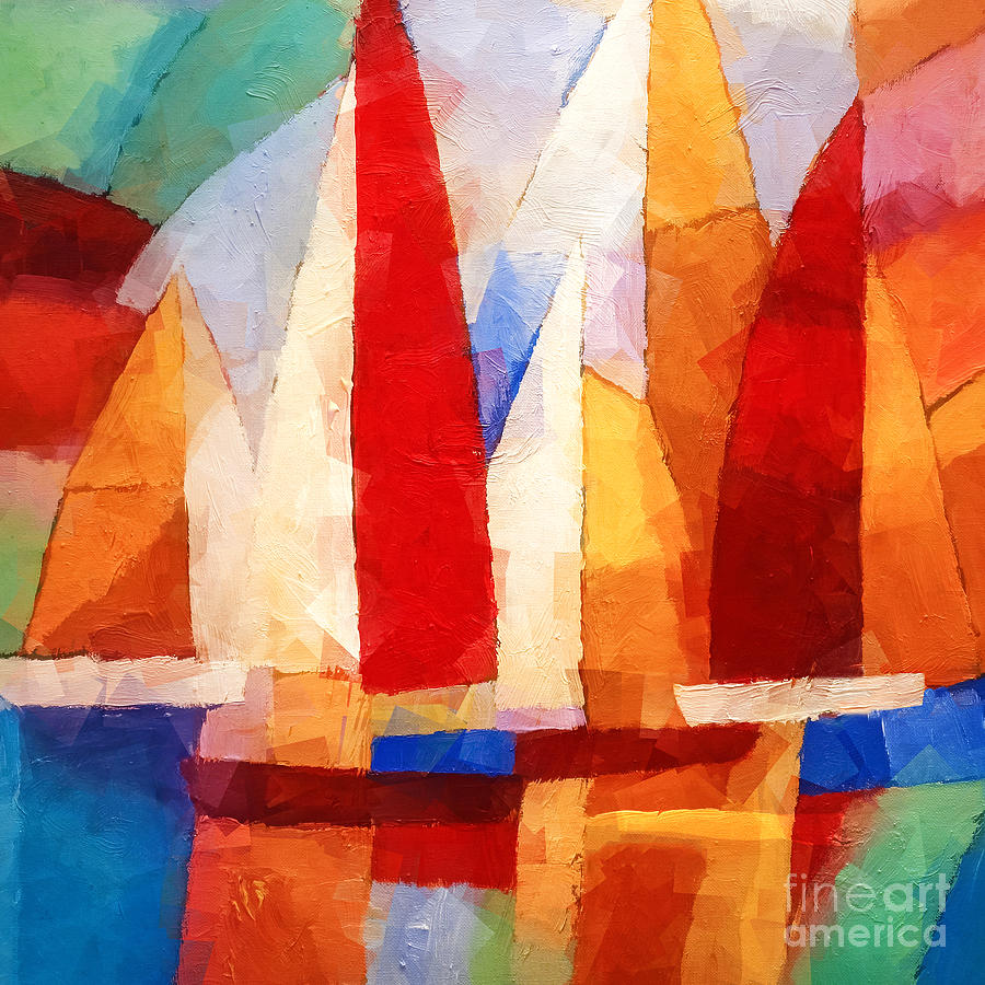 Cubic Maritime Painting