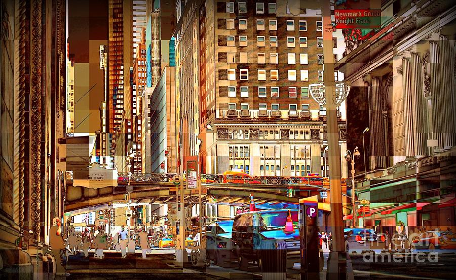 Grand Central And 42nd St Photograph
