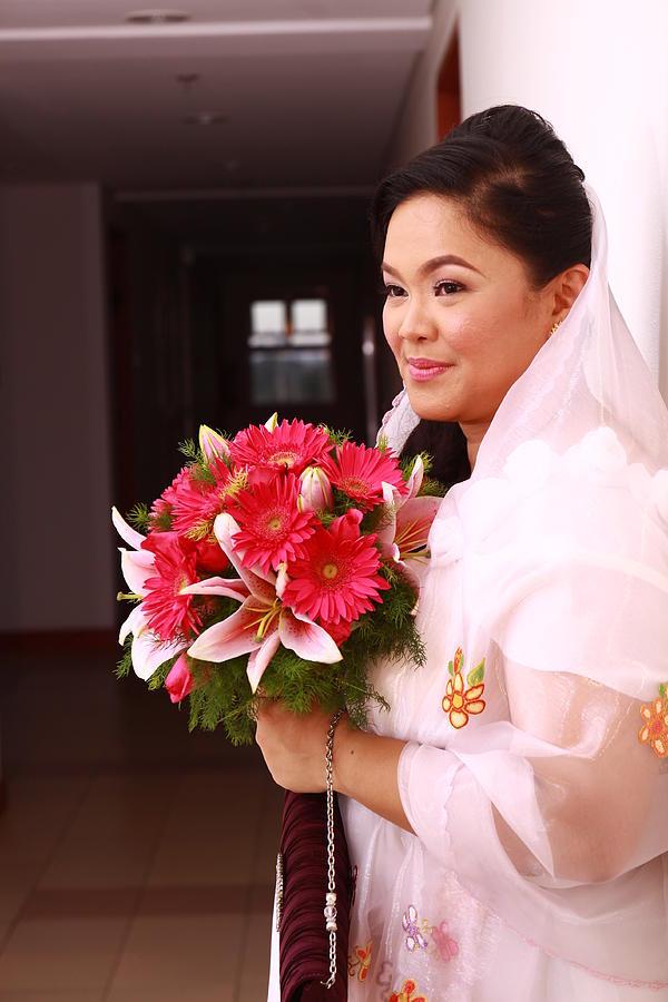 Bride Photograph - Cui Is Flora Mos Cado by SAIGON De Manila