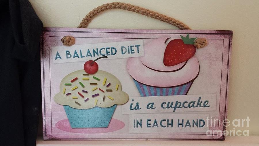 Cupcake Art Painting
