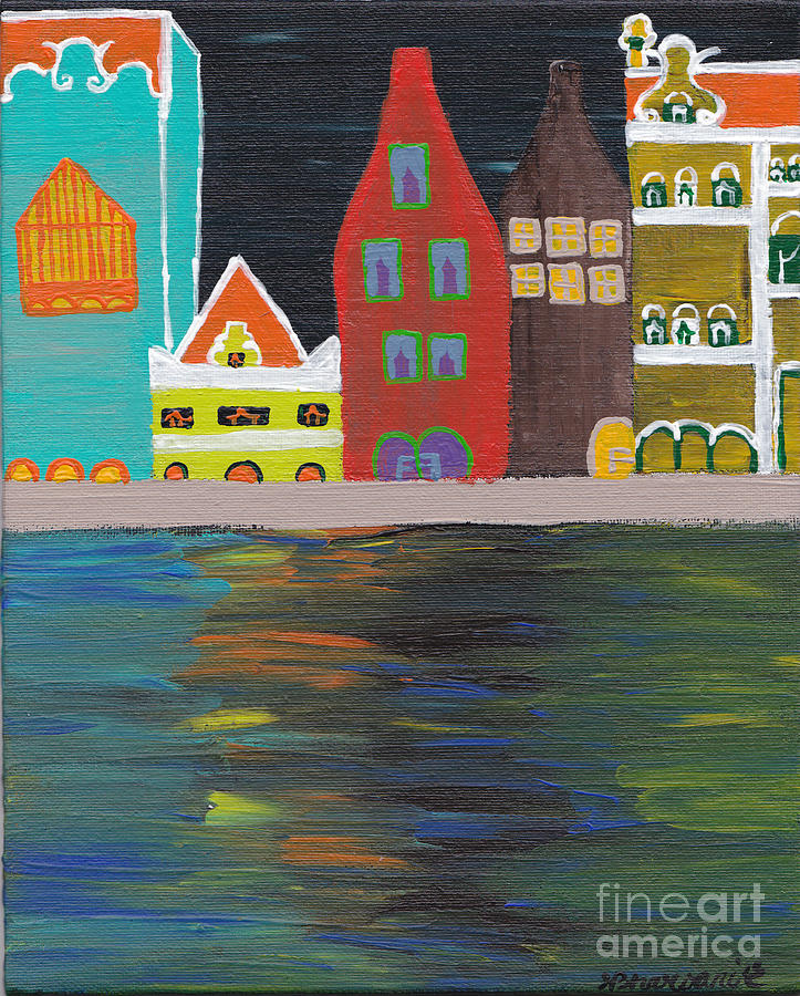 Curacao Nights Painting