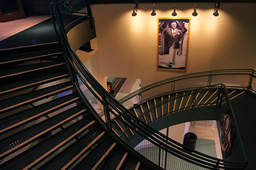 Green Bay Packers Photograph - Curlys Stairway by Bill Pevlor
