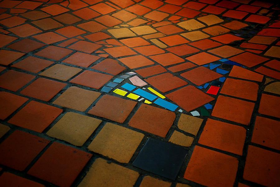 Curve Photograph - Curvy Floor by Ivan Slosar