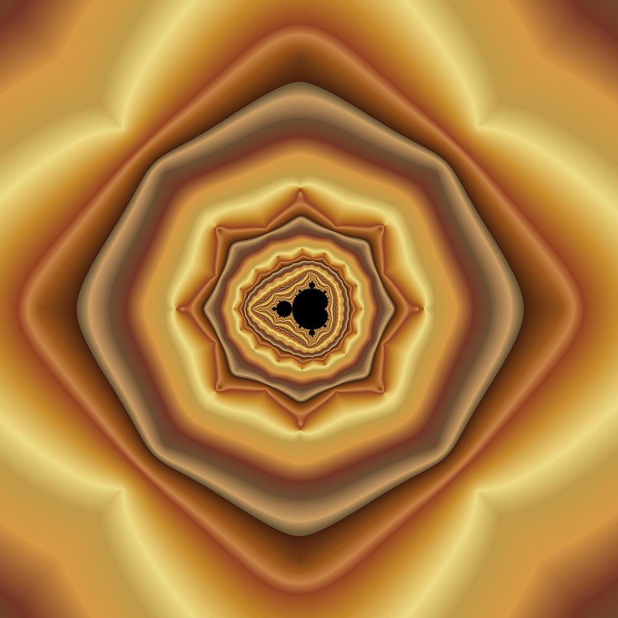 Cushioned Mandelbrot No. 2 Digital Art