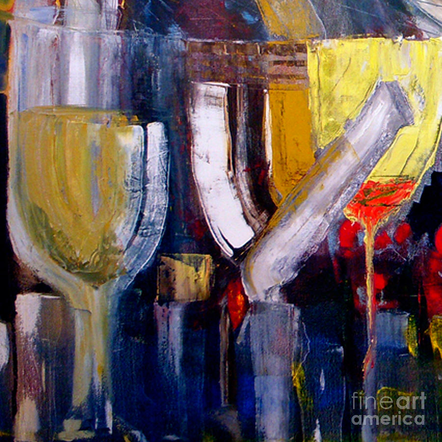 Cut - The Bar Scene Painting by James Lavott
