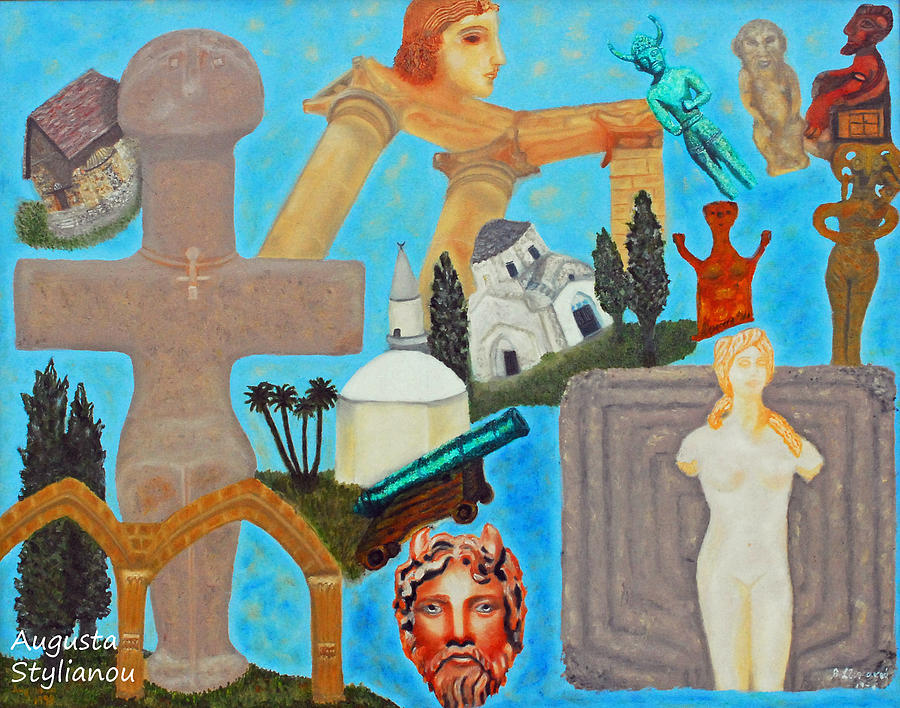 Cyprus History Painting