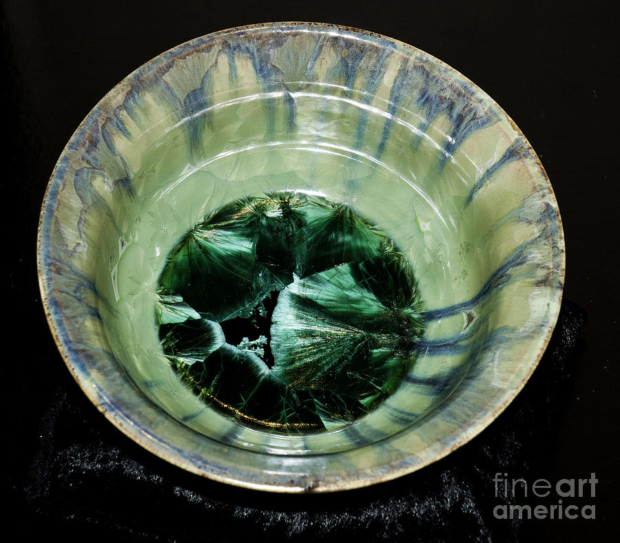 Cyrstalline Glaze Bowl Ceramic Art